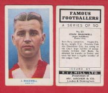 Exeter City John Shadwell 50